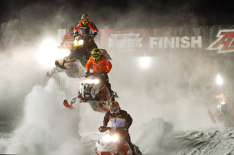 Day 2 - AMSOIL Championship Snocross in Shakopee, Minnesota on January 4, 2014.